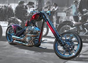 Фотография Harley-Davidson Кастомайзинг HDRI Мотоциклы