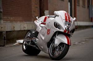 Обои Suzuki Спортбайк GSXR 1300 Мотоциклы фото