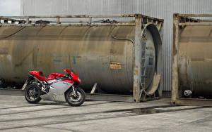 Обои Спортбайк MV Agusta, f4 Мотоциклы фото