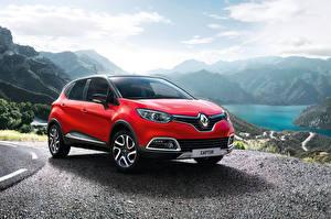 Фотография Renault Стайлинг Красный 2014 Captur Signature