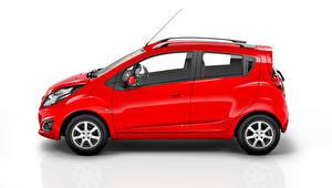 Обои Chevrolet Красный Сбоку Металлик 2014 Beat Автомобили фото