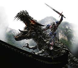 Фотография Трансформеры Чудовище Мечи Dinobot, Optimus Prime