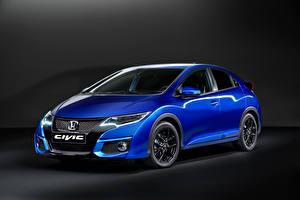Фотография Honda Синий Металлик 2014 Civic Sport авто