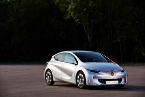 Обои Renault Тюнинг Серебристый 2014 Eolab Машины