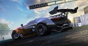 Картинка Gran Turismo Лада Сбоку 3D Графика Автомобили Игры