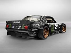 Картинка Ford Тюнинг Сзади 2014 Mustang (Ken Block) машина