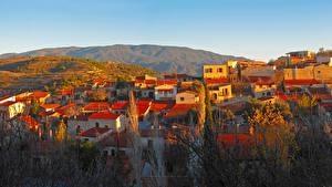 Картинки Республика Кипр Здания Lofou Города