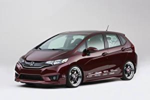 Картинка Honda Бордовый Металлик 2014 Fit Active Metropolitan Lifestyle (Kontrabrands) Авто