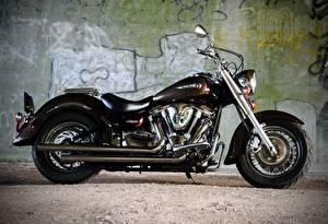 Обои Yamaha xv 1600 wild star Мотоциклы фото