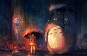 Фотография Зонт My Neighbor Totoro Аниме Мультики