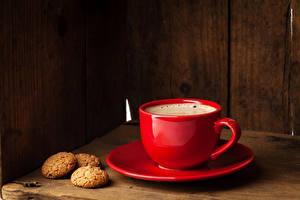 Картинка Напитки Кофе Печенье Чашка Пища