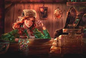 Картинка Дисней В шапке Рыжая Gravity Falls, Wendy Corduroy Девушки