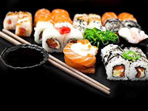 Фото Морепродукты Суси Палочки для еды Еда