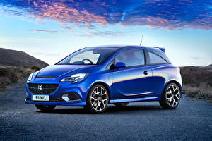Фотографии Vauxhall Голубая Металлик 2015 Corsa VXR