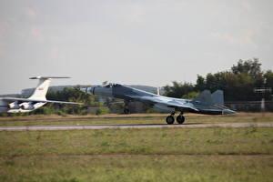 Картинка Самолеты Истребители Взлет MiG-29M2