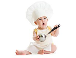 Картинки Младенцы Шапки Повара Дети