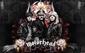 Картинки Мужчины Трое 3 Motorhead