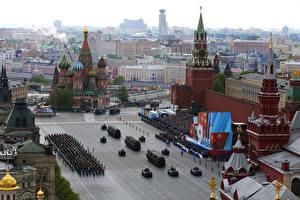 Фотография Россия Москва Праздники 9 мая Военный парад 2015 Города