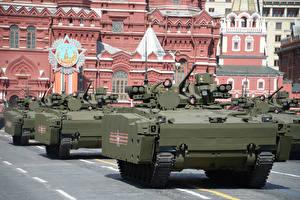 Картинка Боевая техника Москва 9 мая Военный парад Armored personnel carrier, Kurganets-25