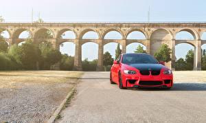 Фото BMW Мосты Асфальта m3 e92 Автомобили