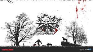 Обои Волки The Witcher The Witcher 0: Wild Hunt Деревья