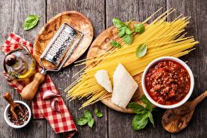 Обои Натюрморт Специи Макароны Кетчупа Продукты питания