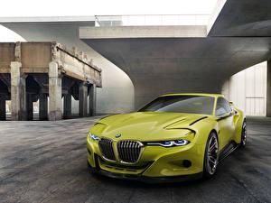 Фотография BMW Желто зеленый Металлик 2015 3.0 CSL машина