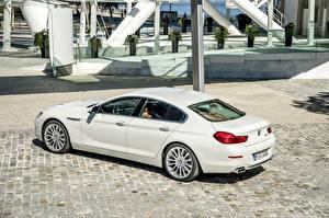 Фото BMW Белый 650i Gran Coupe F06 машина
