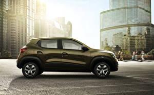 Картинка Renault Сбоку Металлик 2015 Kwid