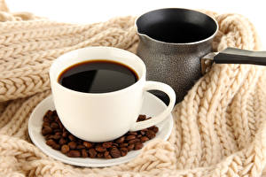 Обои Кофе Напитки Чашка Зерна Турка Пища