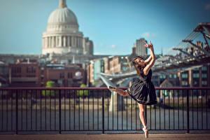 Фото Платья Забор Лондон Балет Eponine Bougot Девушки