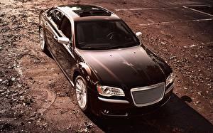 Фото Крайслер Черные 300 Luxury Series машины