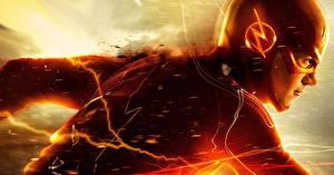 Обои Герои комиксов Флэш телесериал 2014 Флэш герои Barry Allen Фильмы