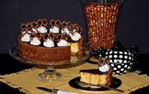Картинки Торты Печенье Еда