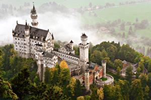 Фото Германия Замки Нойшванштайн Бавария