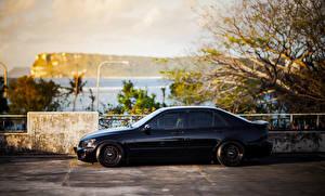 Фотографии Lexus Сбоку Черный is200 Машины