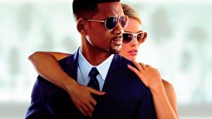 Обои Уилл Смит Мужчины Очки Focus 2014 Кино
