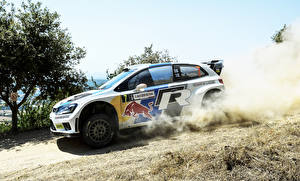 Фото Фольксваген Стайлинг Сбоку Ралли Polo WRC Jari-Matti Latvala 7 Авто