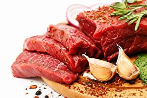 Обои Мясные продукты Чеснок Специи