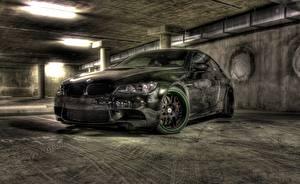 Картинки Тюнинг BMW Спереди HDRI m3 e92 авто