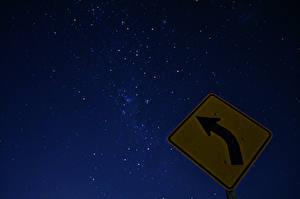 Фотографии Звезды Небо Ночные Космос