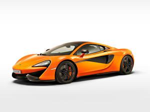 Фотографии McLaren Оранжевый Металлик 2015 570S машина