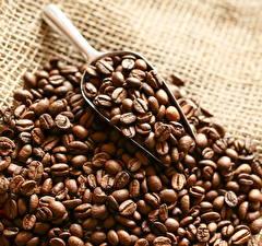 Обои Кофе Вблизи Зерна Еда