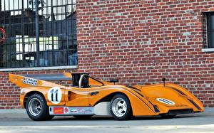 Фотографии Макларен Сбоку Оранжевые M8E Can-Am 1971 машина