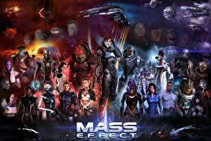 Обои Mass Effect Воители Tali Zorah Инопланетяне Garrus Vakarian, Grunt, Jack, Jacob Taylor, Kasumi Goto, Legion, Miranda Lawson, Mordin Solus, Morinth, Samara, Thane Krios, Zaeed Massani Девушки Фэнтези