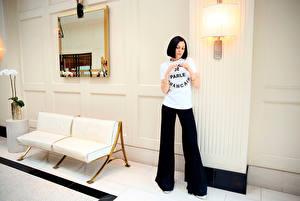 Картинка Брюнетка Зеркало Лампа Jessie J, Jessey Ellen Cornish Знаменитости Девушки