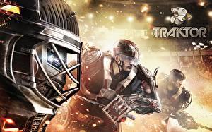 Фотография Хоккей Мужчины Шлем traktor 2014/15
