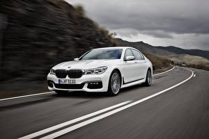 Фотографии БМВ Дороги Белых BMW 7 G11 / G12 автомобиль