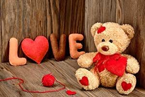 Фотография Игрушки Мишки День всех влюблённых Сердце Love