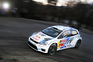 Картинки Volkswagen Тюнинг Ралли Polo WRC Sebastien Ogier машины